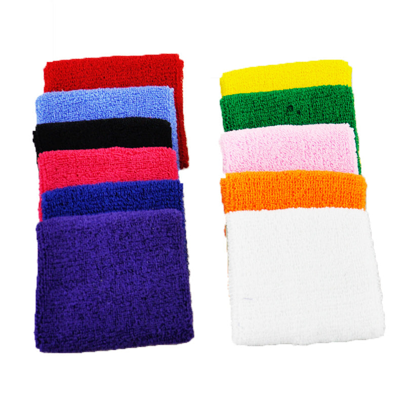 Terry Cloth Wrist Sweat Bands