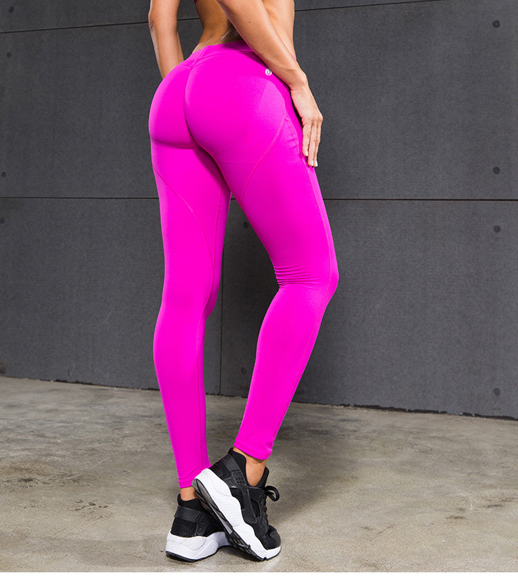 Sexy Hips Push Up Slim Yoga Sports Running Leggings
