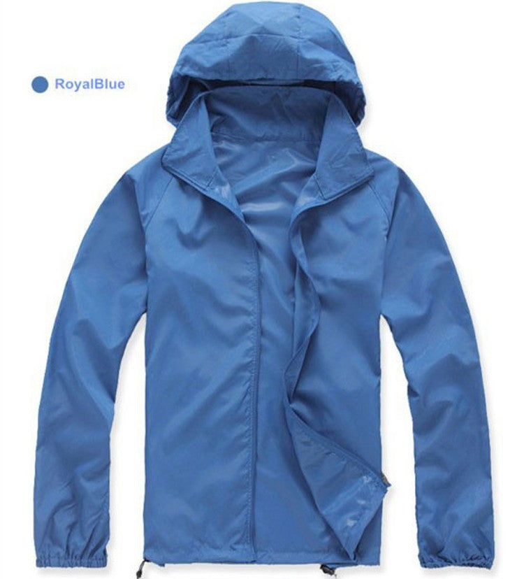 Lovers Skin Sunscreen Clothing Quick Dry Windproof Jackets