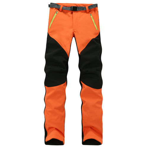 Outdoor Waterproof Fleece Windproof Sport Pants