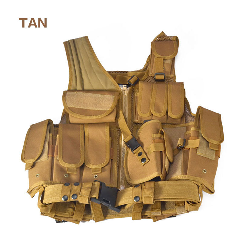 Police Tactical Military Outdoor Camouflage Vest