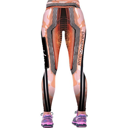 Sports High Waist Quick Drying Legging Elastic Trousers