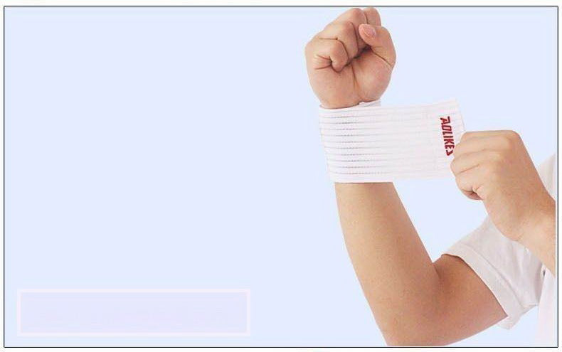 Cotton Fitness Elastic Bandage Hand Wrist Gym Strap Wrap Protector