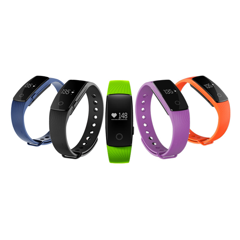 ID107 Activity Tracker Monitor Smartband Heart Rate