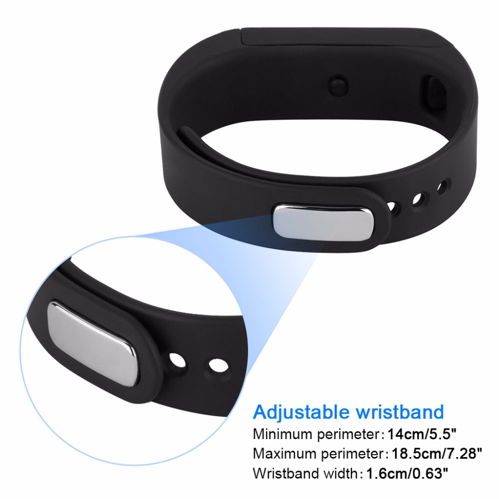 Excelvan I5 Plus Smart Bracelet Bluetooth 4.0 Waterproof Touch Screen Fitness Tracker