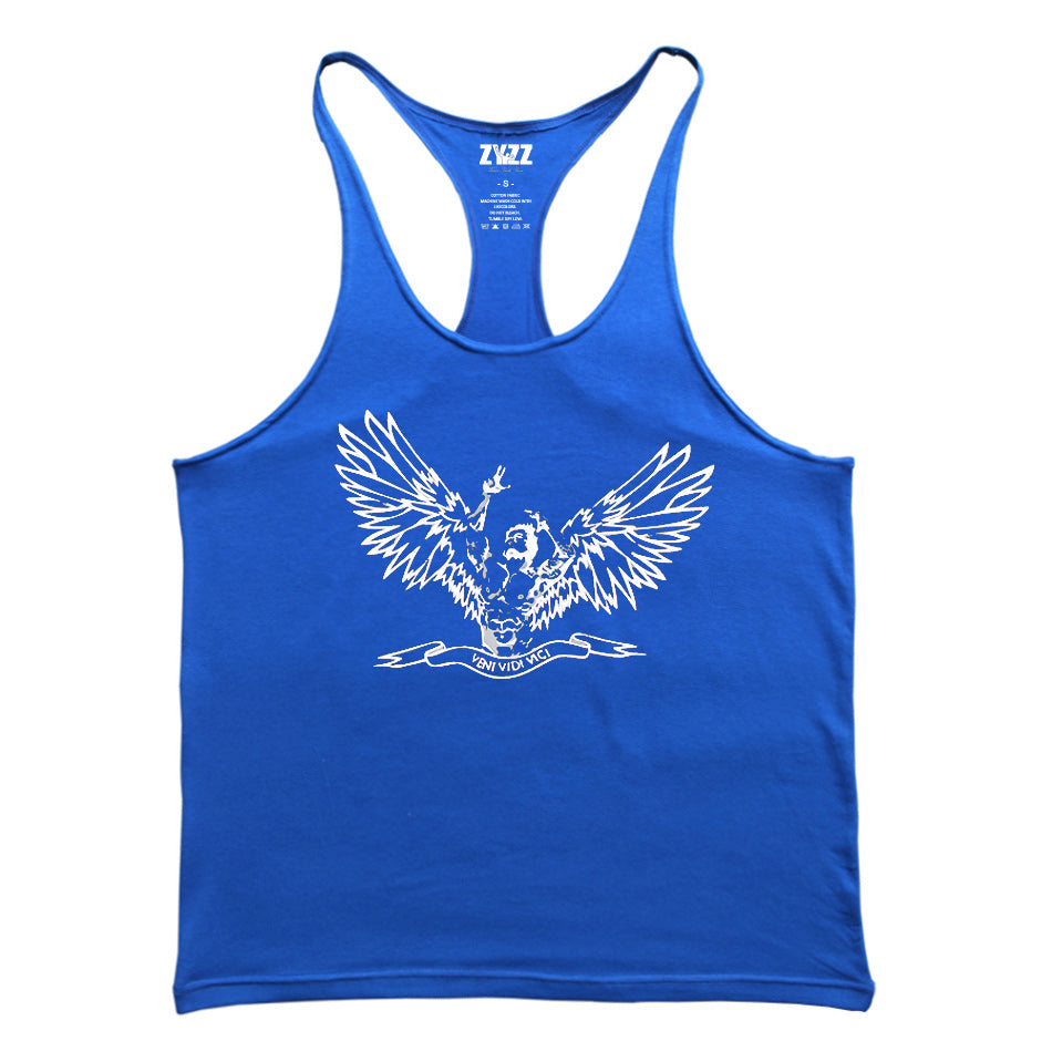 Fitness Singlets Bodybuilding Stringer Muscle Shirt