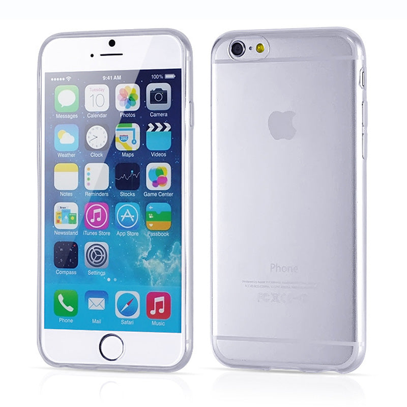 Slim Crystal Back Protect Rubber iPhone Cover