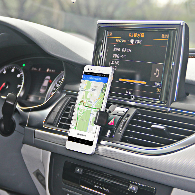 Adjustable Car Air Vent Mount Holder iPhone Stand