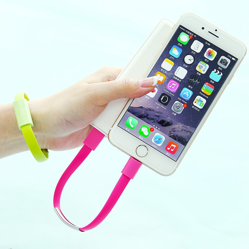 Bracelet Mobile Phone Charger Data Cable