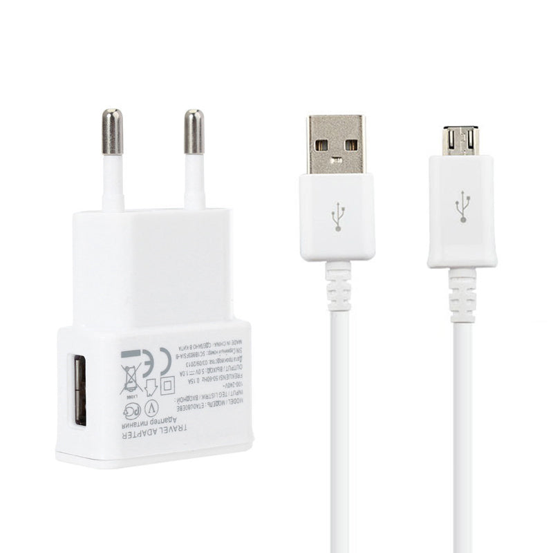 Charging Adapter & Micro USB Cable For Samsung Galaxy