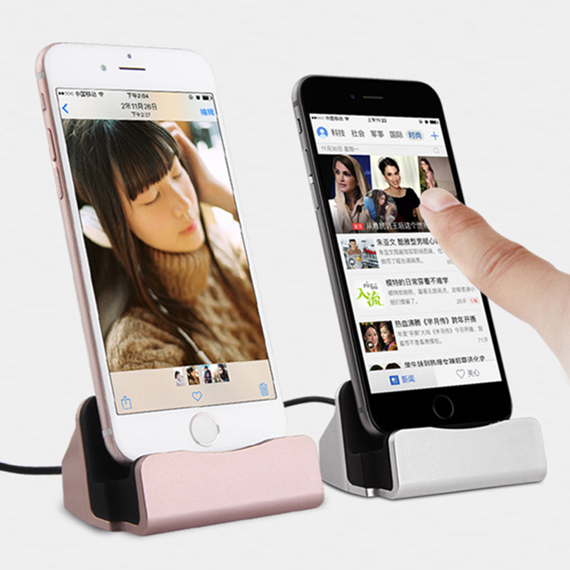 Charger Dock Stand Station For iPhone