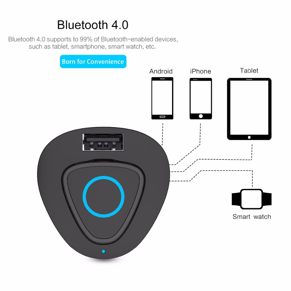 Led Display Bluetooth Earphone & Car Charger