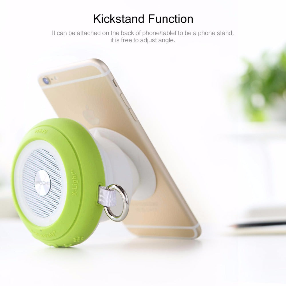 ROCK Pocket Party Bluetooth Speaker with Colorful Led Light