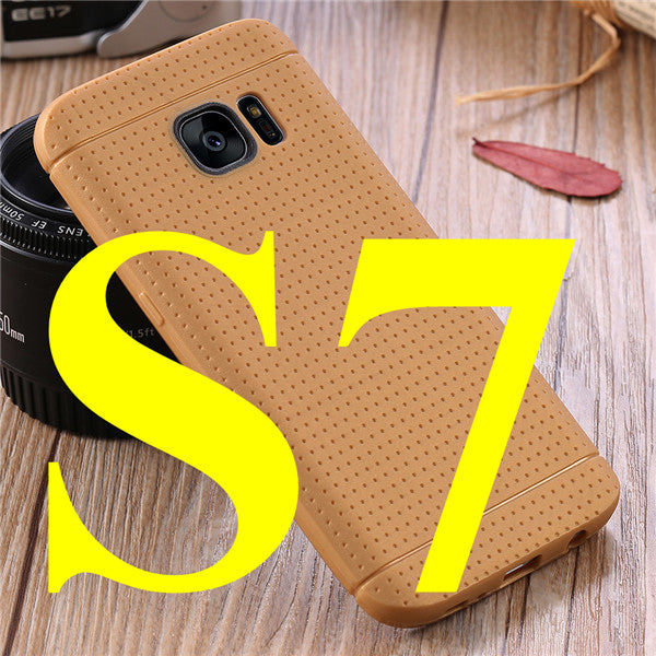 Soft Silicone Ultra-Slim Flexible Case For Samsung Galaxy S7 G9300 S7 edge