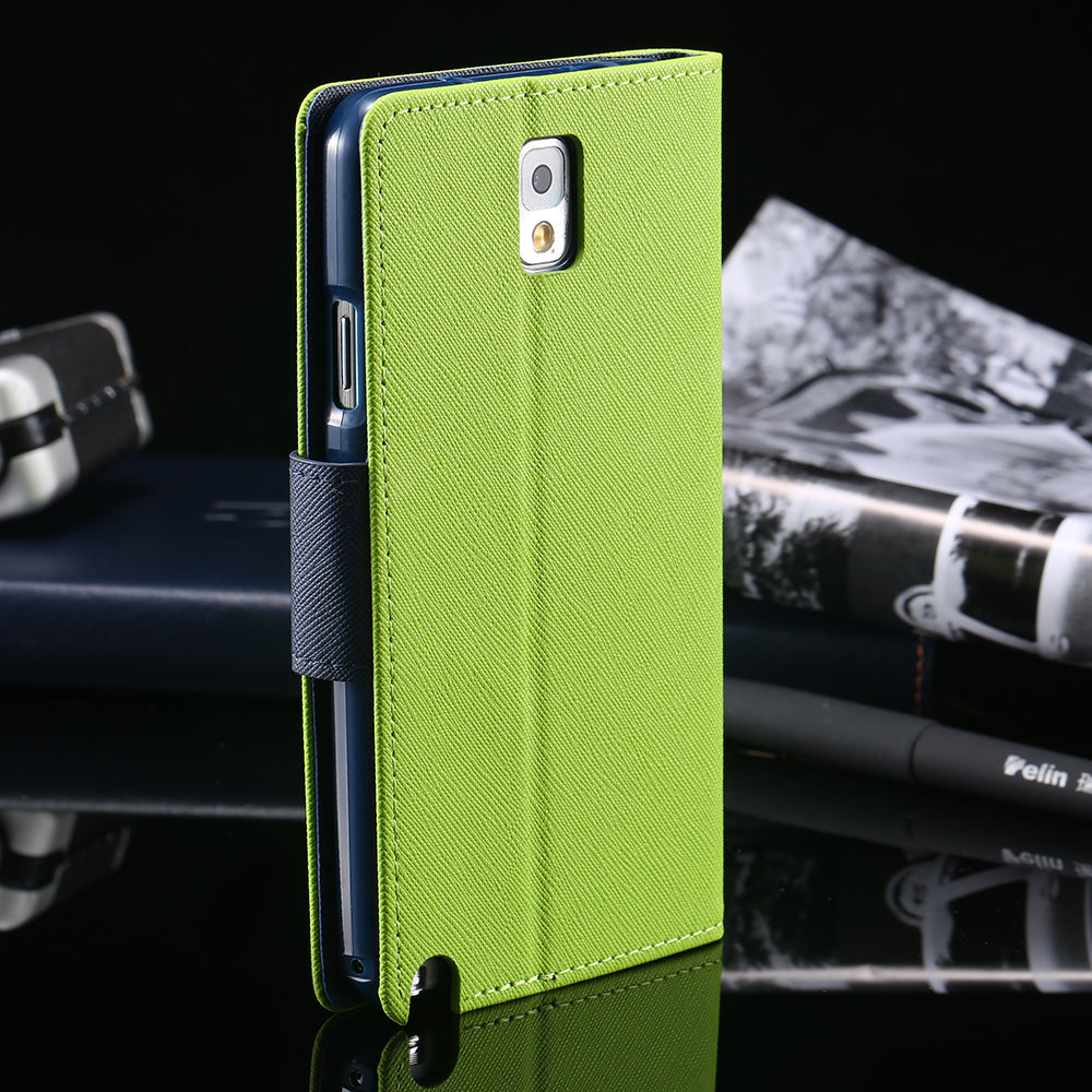 Luxury Flip Leather Stand Cover For Samsung Galaxy Note 3 N9000 Note 5