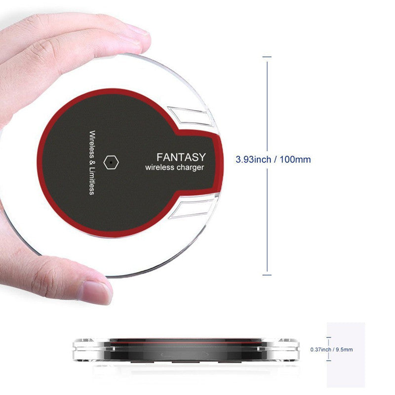 Universal Qi Wireless Charger Dock Charging Pad