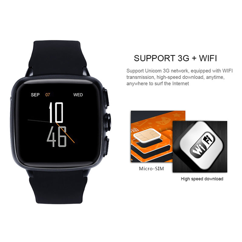 Pewant Android Smart Watch 512M RAM 4G ROM