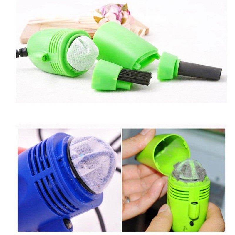 Cute Mini USB Vacuum Keyboard Cleaner