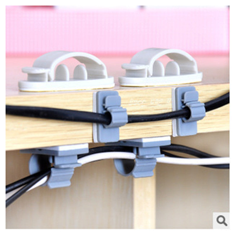 10pcs Cable Organizer & Holder Clips