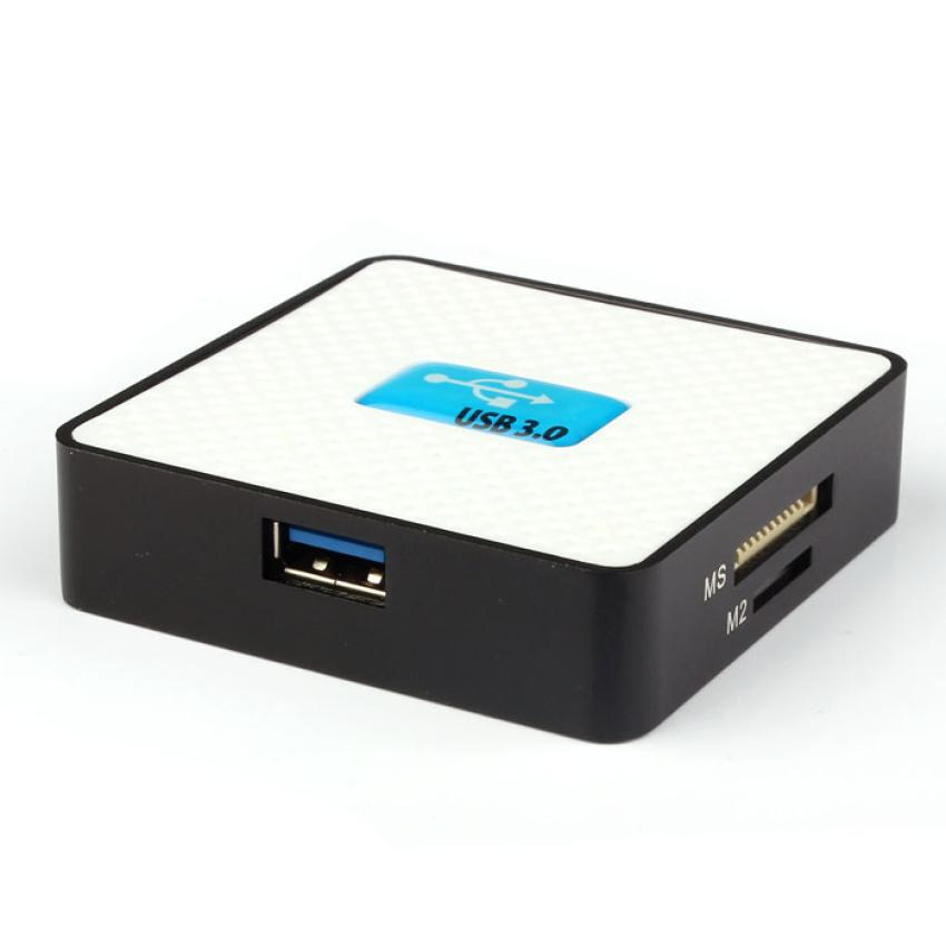 All-In-1 USB 3.0 Compact Flash Multi Card Reader CF Adapter Micro SD MS SD