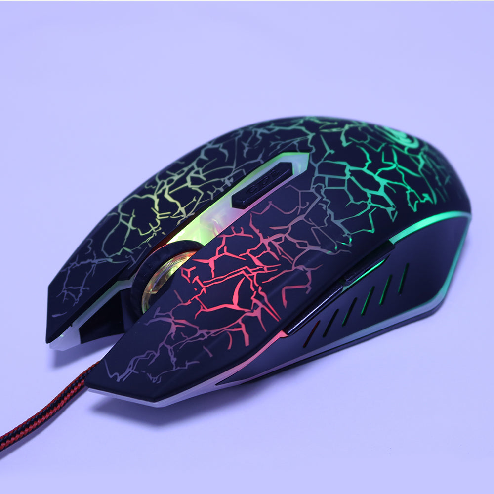 USB Optical Wired Gaming Mouse For Computer PC Laptop