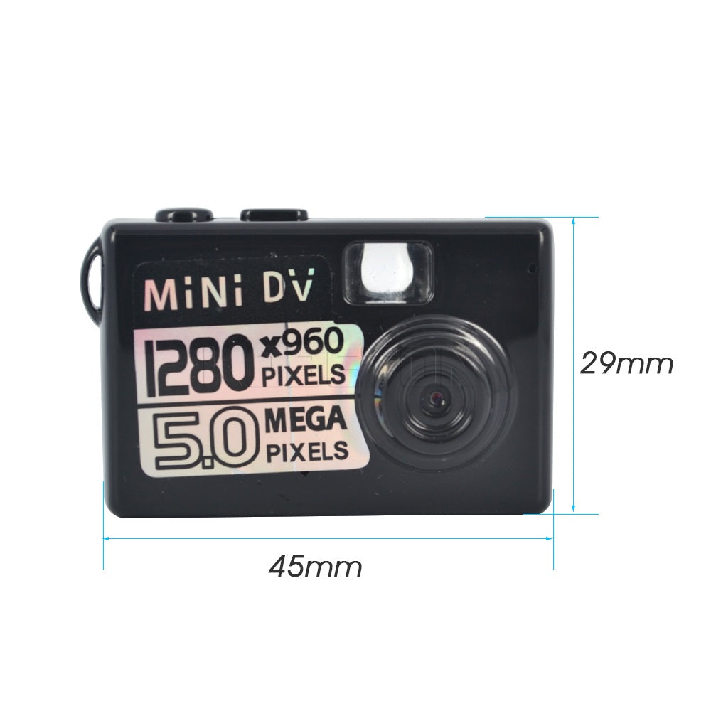 HOT 5MP HD Micro Smallest Portable Digital Camera Video Recorder Camcorder Webcam DVR Recorder 720P