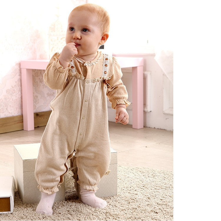 0-2 Years Old 100% Cotton Accouterments Lovely Jumpsuit
