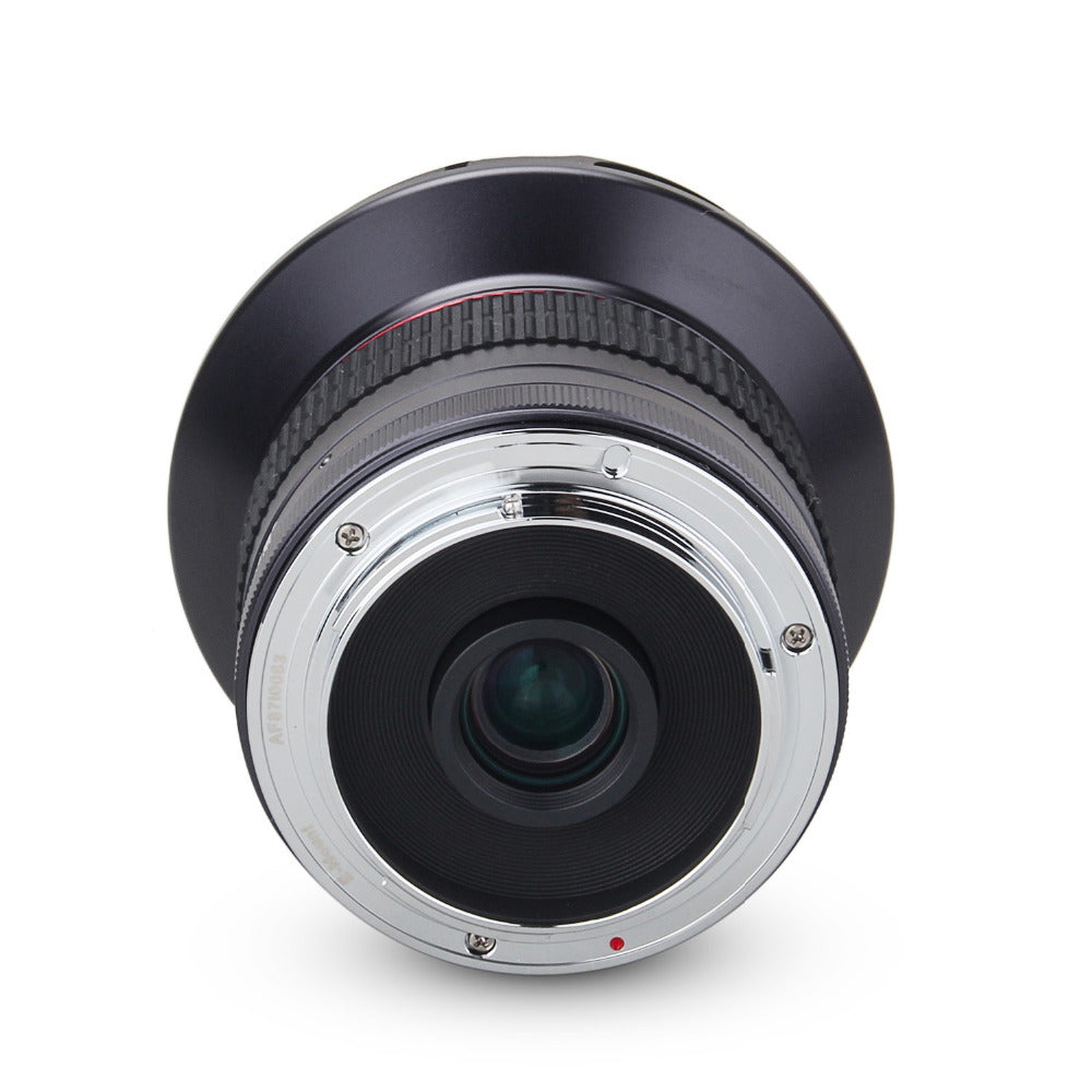 12mm f/2.8 Ultra Wide Angle Fixed Lens with Removeable Hood for Panasonic/Olympus