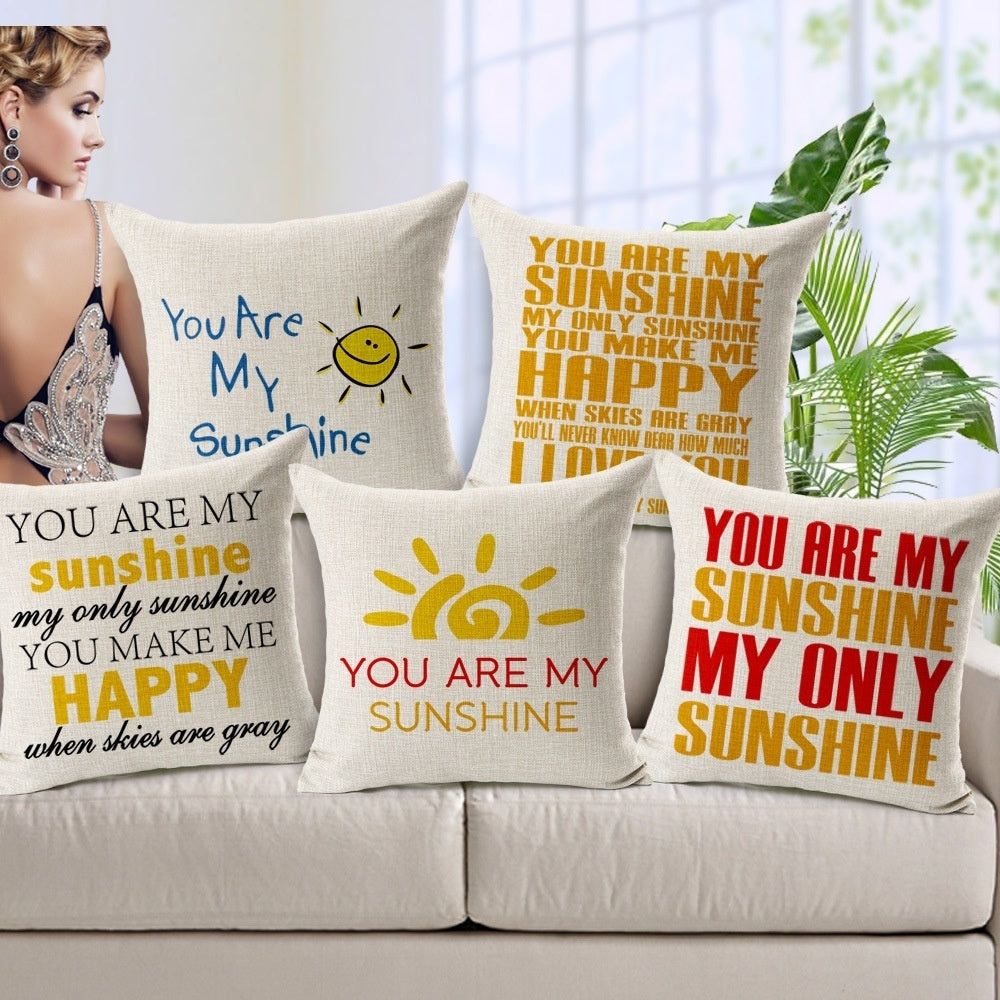 Funny 100% Cotton Creative Cushion With Filling Stuffed