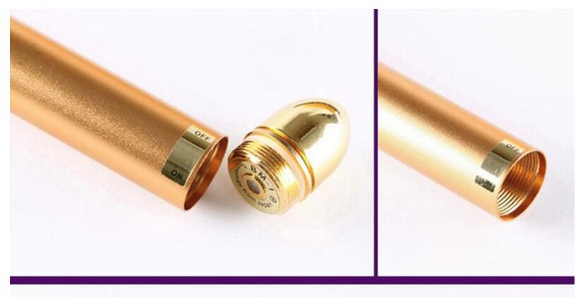 24K Thin Face Stick Beauty Care Vibration Firming Facial Roller Massager