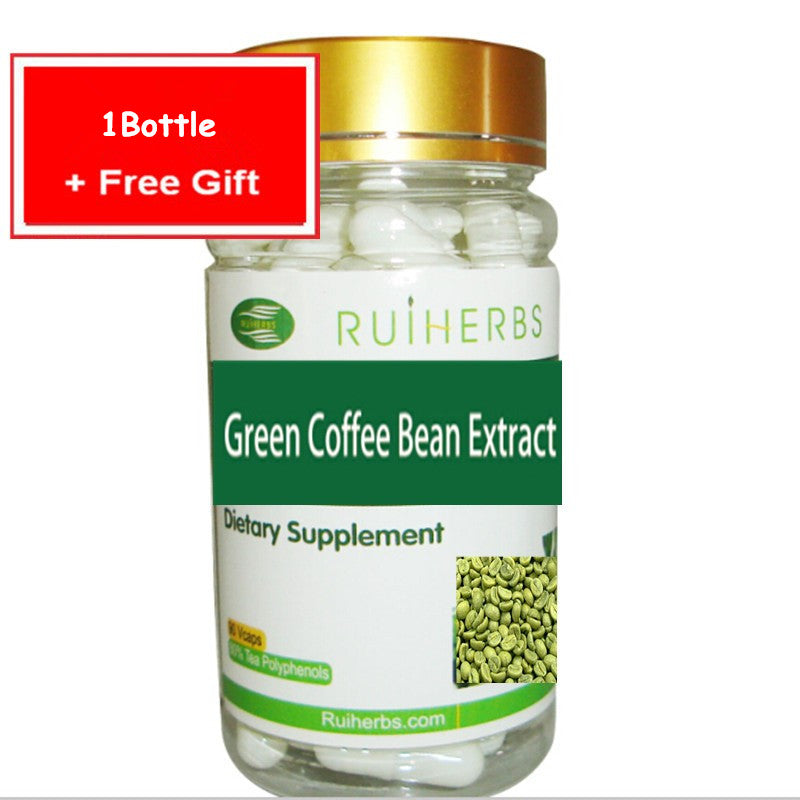 1 Bottle Green Coffee Bean Extract Natural 65% Chlorogenic Acid For Weight Loss