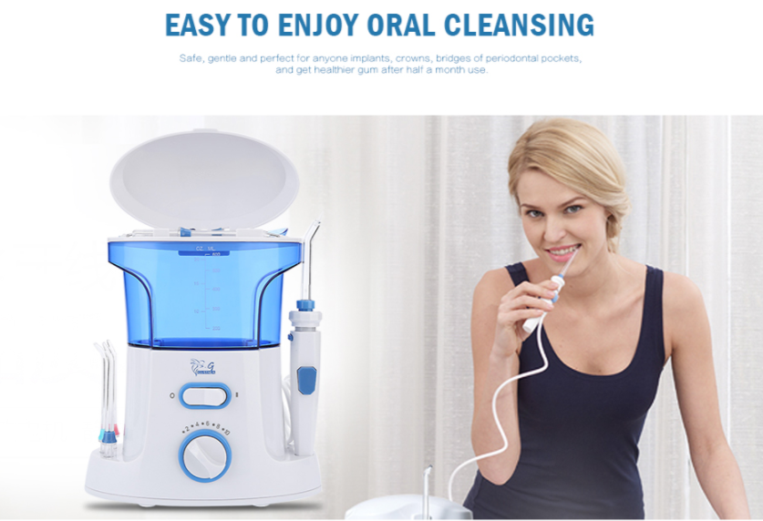 Portable 600ml Water Dental Flosser Oral Irrigator