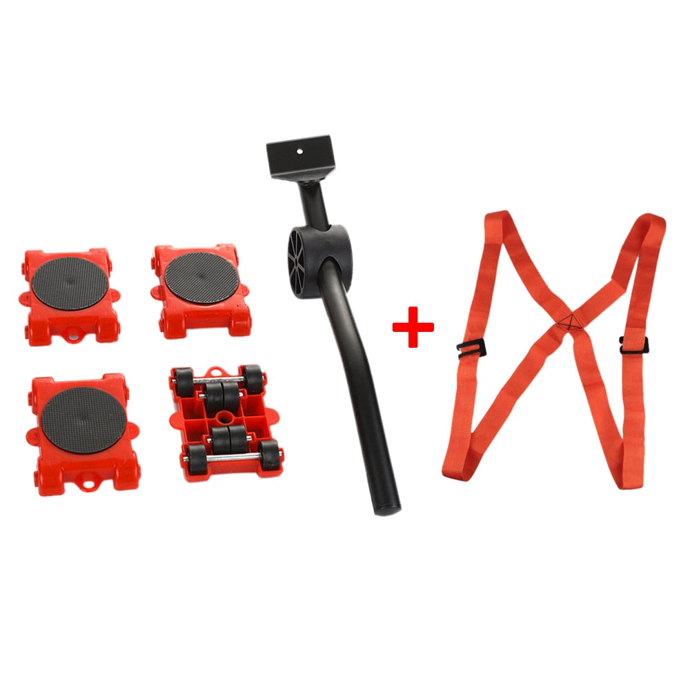 Professional Furniture Transport Lifter Tool Set For Heavy Stuffs Moving
