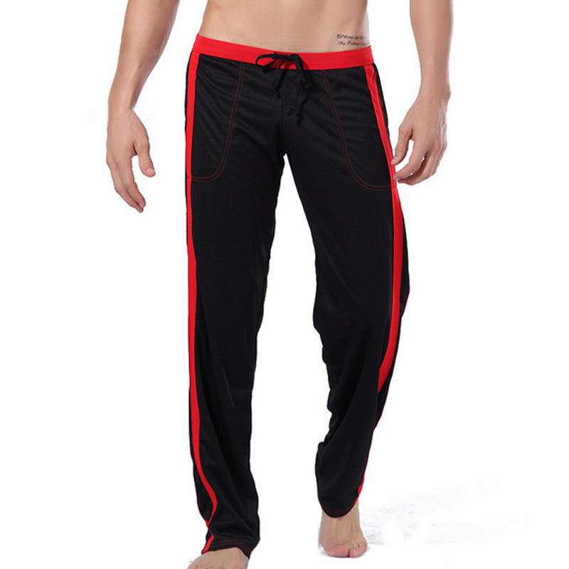 Low-Rise Trousers Silky Lounge Pants