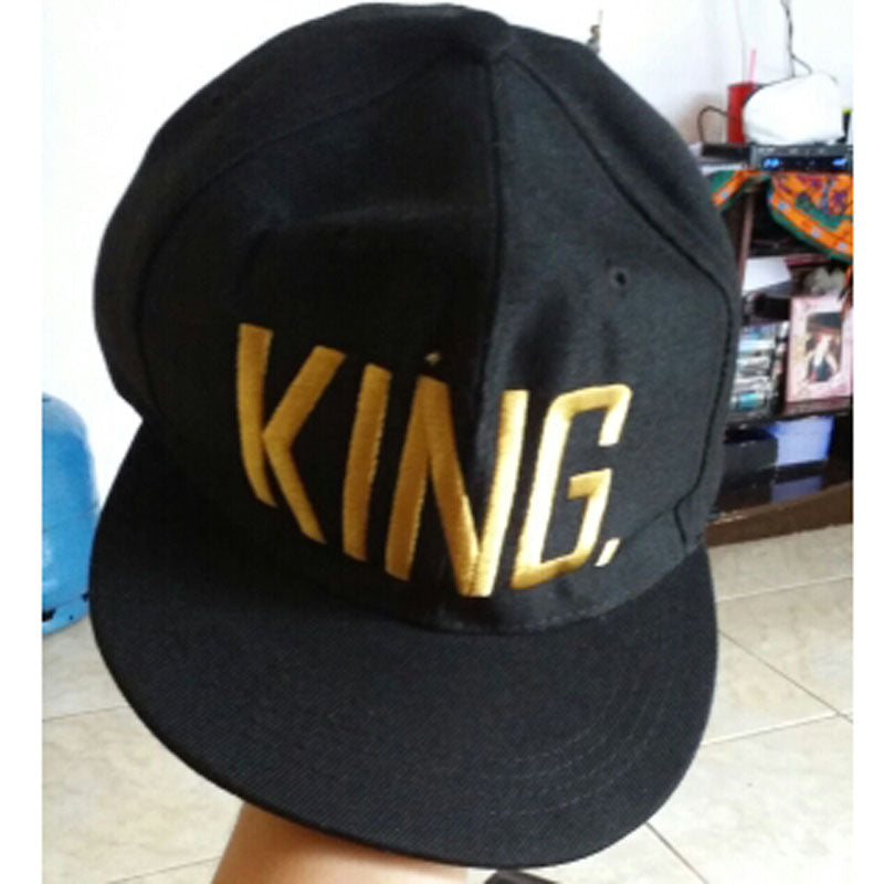 Fashion KING QUEEN Embroider Letter Couples Lovers Adjustable Baseball Caps