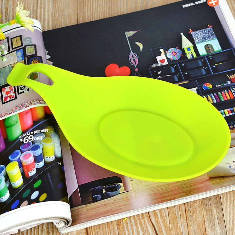 Heat Resistant Silicone Spoon Rest