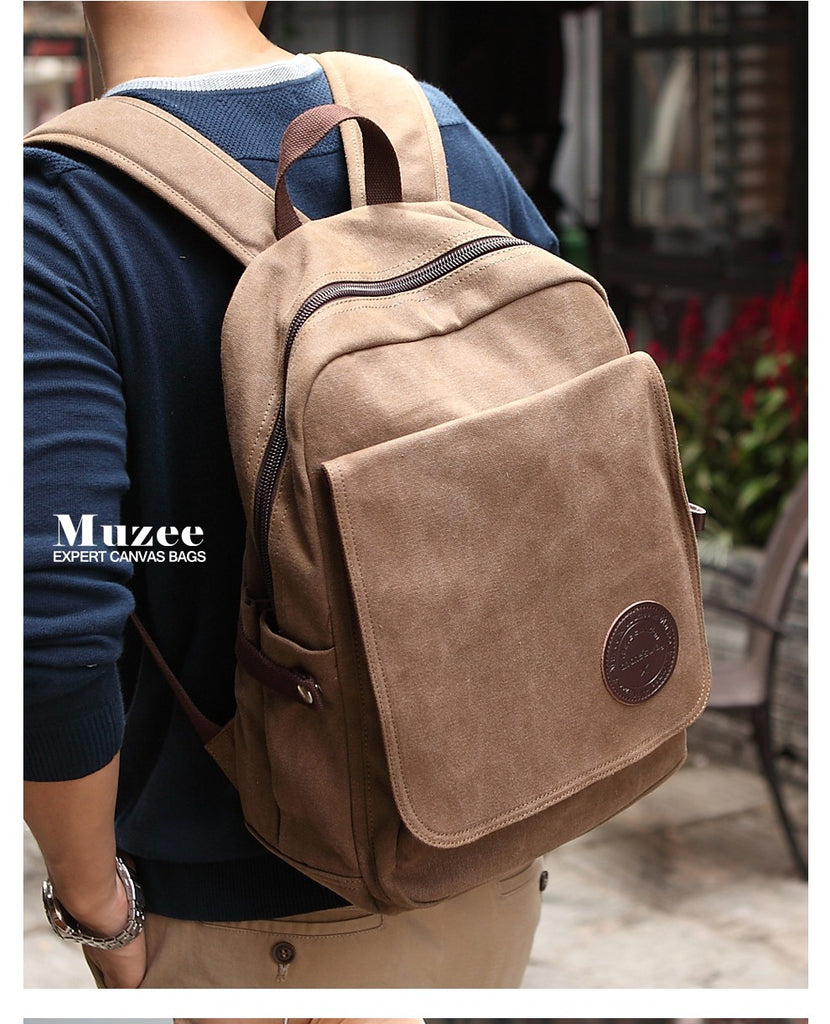 Fashion Casual Canvas School Travel Backpack