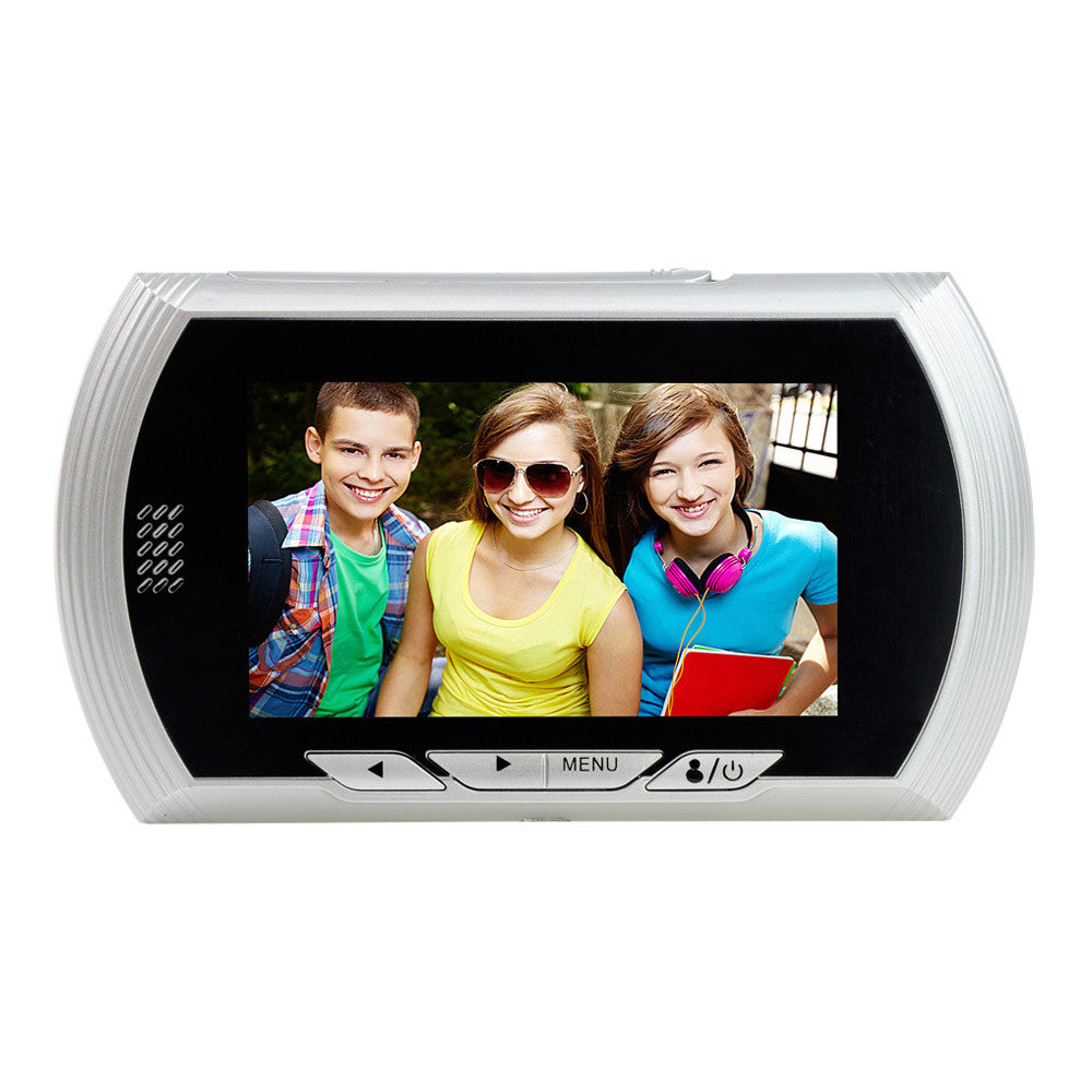 "4.3""HD Color Screen Smart Doorbell Viewer Digital Door Peephole Viewer"