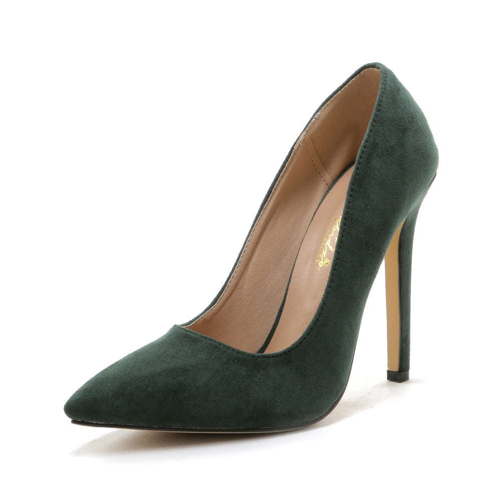 Plus Size Thin High Heels Pointed Toe Women Pumps