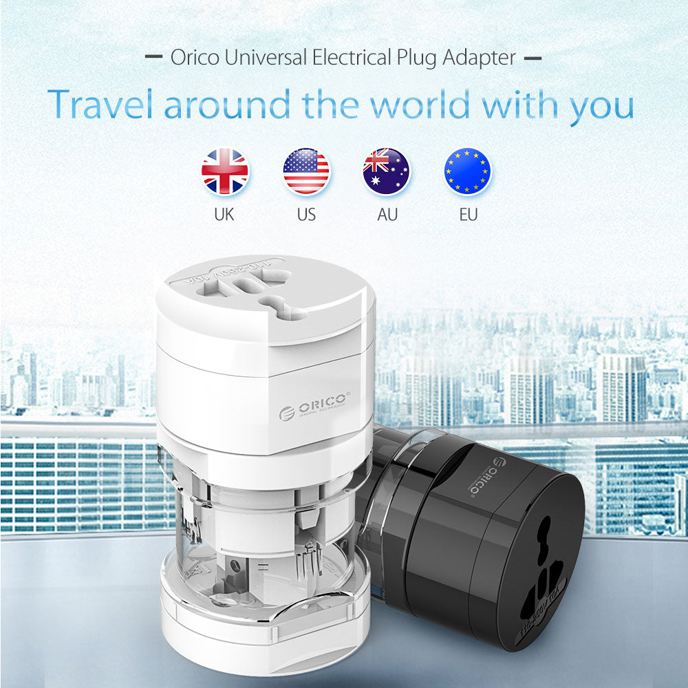 Universal Portable Electrical Plug Adapter Travel Power Socket Converter Outlet