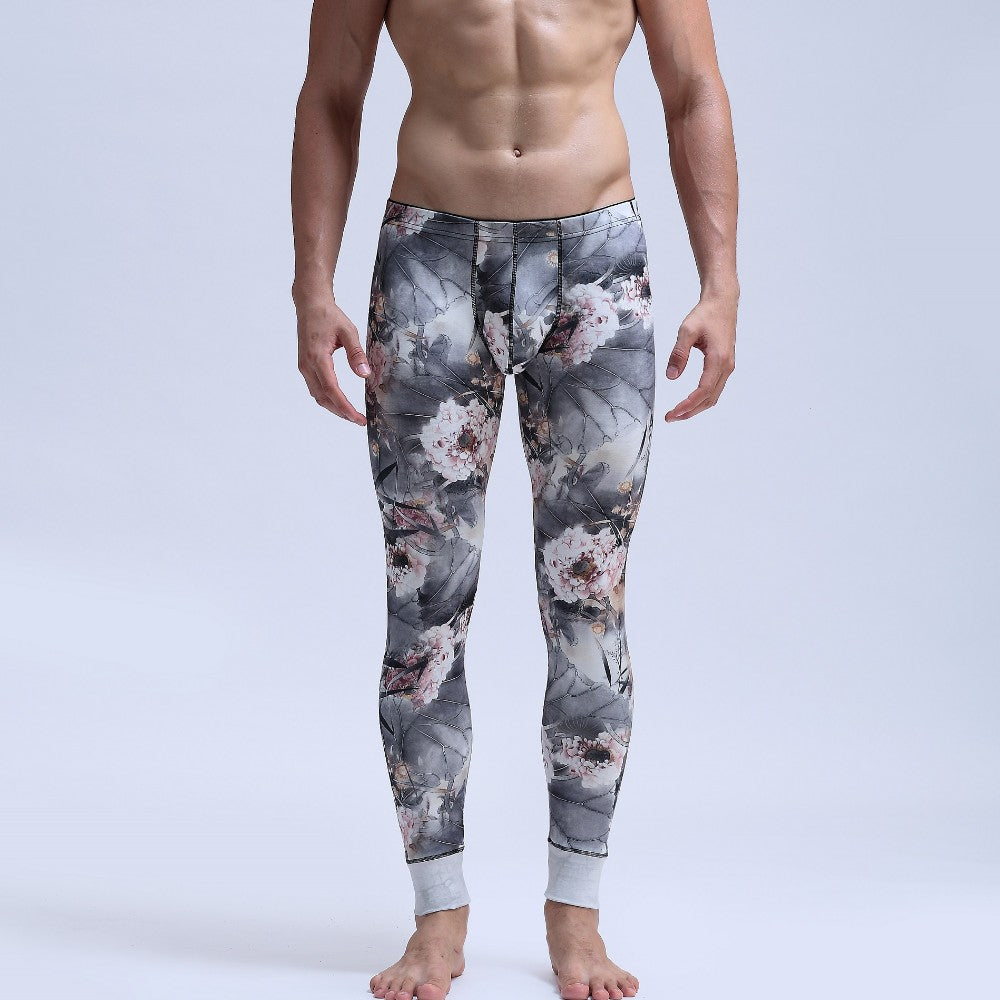 Sexy Thermal Long Polar Fleece Underwear
