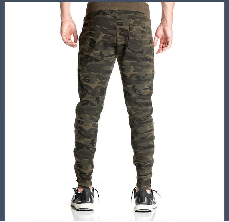 High Elastic Camouflage Compression Men Sports & Outdoor Pant