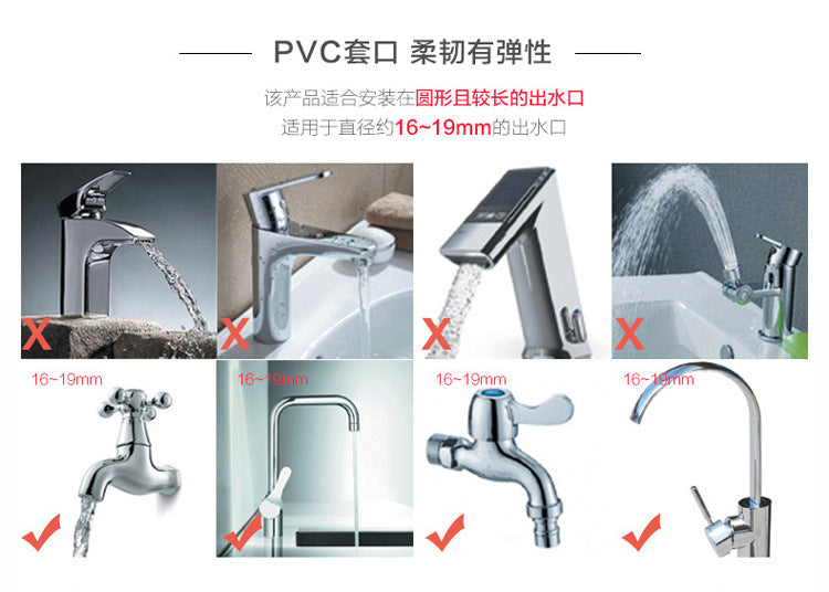 4 Colors Water Saver Children's Guide Washing Fruit & Vegetable Device Faucet Extender