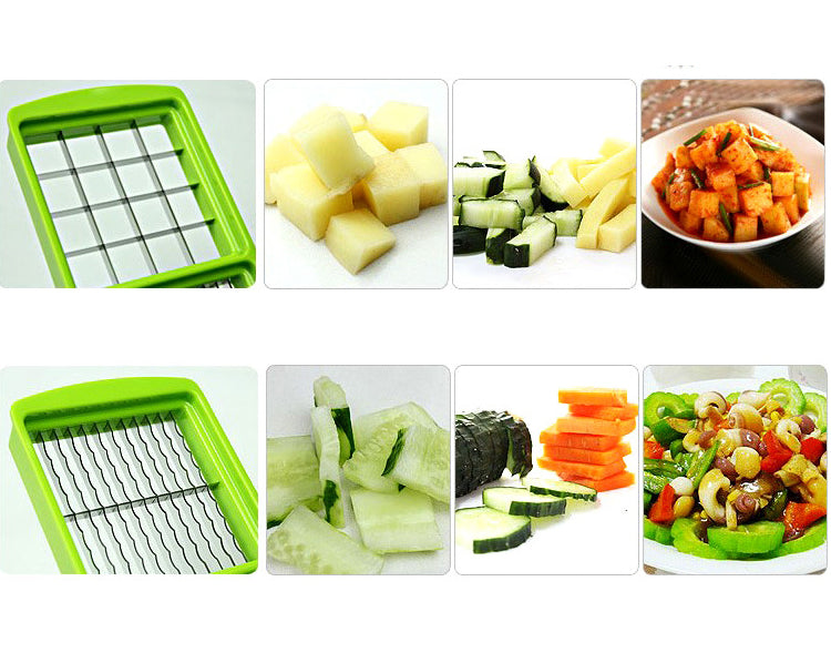 12in1 Multifunctional Stainless Steel Vegetable Peeler Slicer Grater