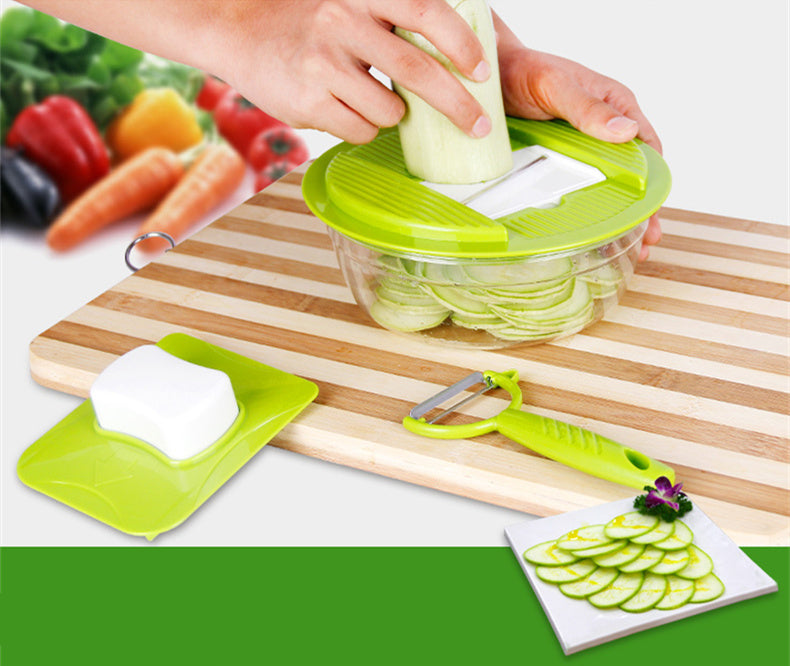 Creative Mandoline Vegetable Slicer Stainless Steel Multi Kitchen Grater