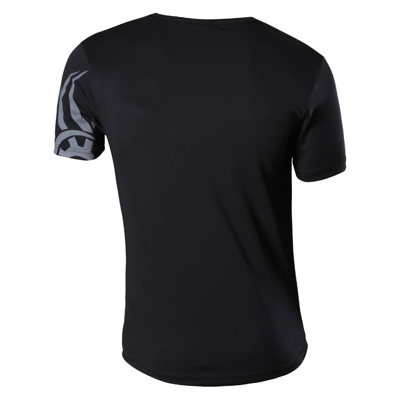 Short Sleeve Casual V-Neck Shirt Slim Fit T-shirt