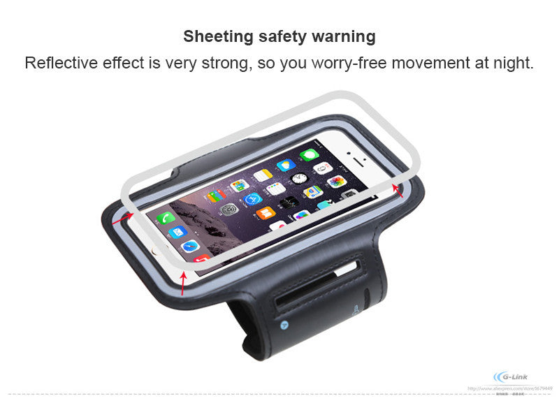 4'' Universal Sports Armband Cover Case For Phone