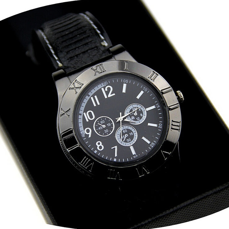 Cool Windproof Flameless USB Charging Lighter Fire Watch