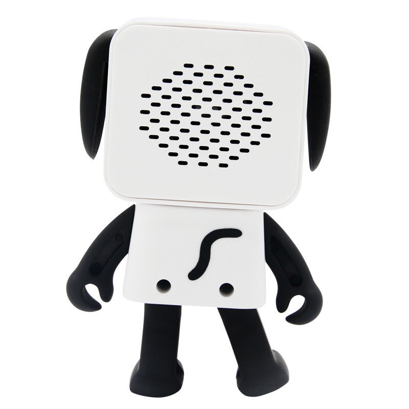 Cute Portable Bluetooth V4.1 Robot Dog Mini Wireless Handsfree Speaker