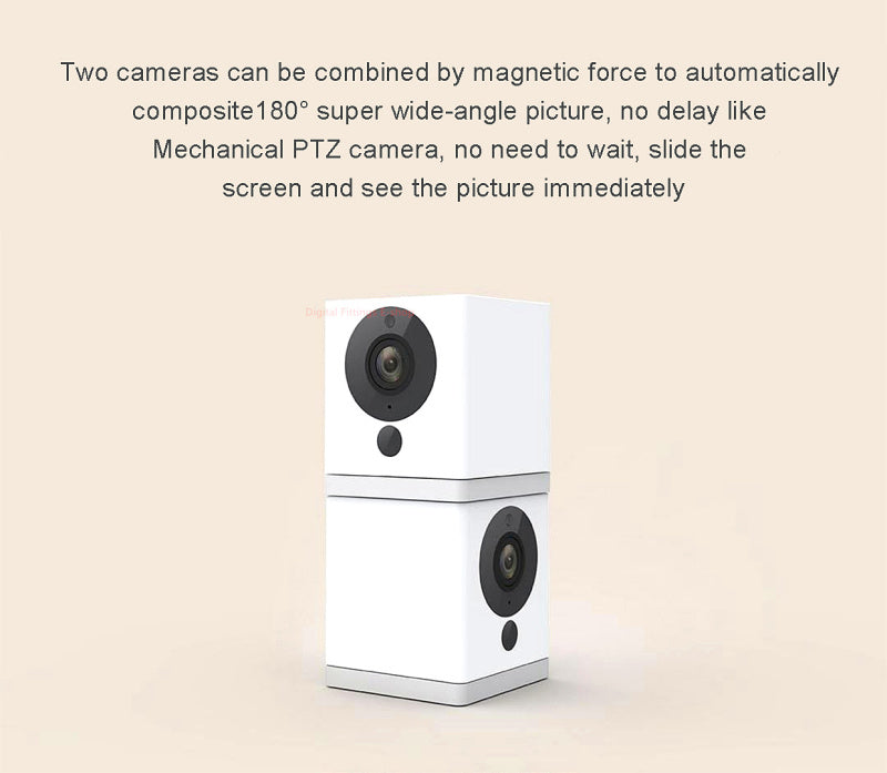 Original XiaoFang Portable Smart IP Camera Night Vision 1080P F2.0 Large Aperture Ratating Base Magnetic Adsorption